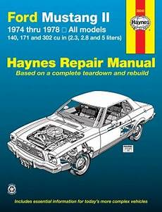 1974 78 ford mustang ii haynes repair manual 1amnl00187 at 1a auto com ford mustang ii 1974 1978 4 cylinder v6 v8 haynes repair manual haynes manuals