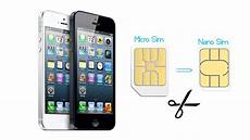 Iphone 5 How To Convert Micro Sim Card Into Nano Sim Card