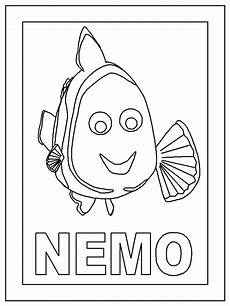 free nemo disney coloring pages picture ideas