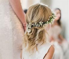 coiffure fille mariage 25 jolies coiffures de mariage pour petites filles