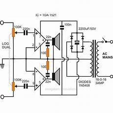 How To Make A Simple Stereo Audio Lifier Using Ic 1521