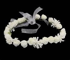 couronne fleurs pour demoiselle d honneur ou communion