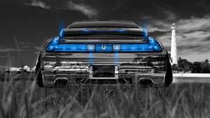 Honda NSX JDM Back Crystal Nature Car 2014  El Tony