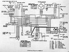 Part 1 Complete Wiring Diagrams Of Honda Ct90 All About