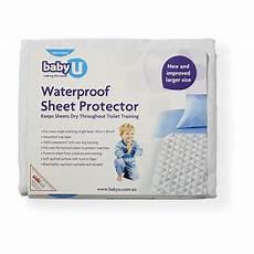 baby u waterproof sheet protector big w