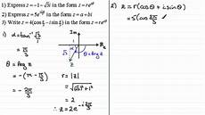complex numbers exponential form exles examsolutions maths tutorials youtube