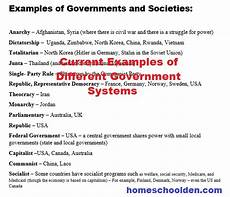 types of governments worksheets world leaders currently free homeschool den