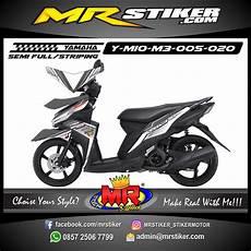 Stiker Motor Mio Gt Keren by Stiker Motor Decal Mio M3 Silver Ultimate Stiker Motor