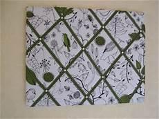 pinnwand aus leinwand stoff arts crafts pewter