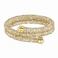 swarovski armband gold swarovski crystaldust gold bangle bangles