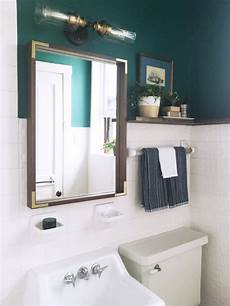 rental bathroom makeover a reversible rental bathroom makeover under 500 apartment therapy