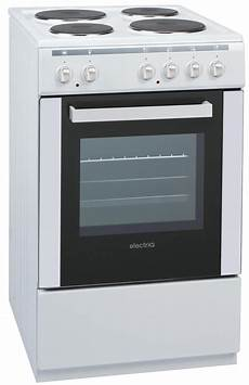 electriq 50cm electric single cooker with solid hotplate