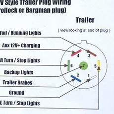 6 trailer connector wiring diagram free wiring diagram