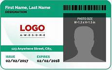 how to make id card template in word ms word photo id badge sle template word excel
