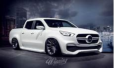 mercedes x class slammed mercedes x class looks ready to spark up the