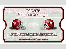 alabama georgia game 2020