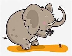 Gambar Ilustrasi Gajah Koleksi Gambar Hd