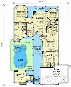 courtyard pool house plans related image pool house plans courtyard house plans