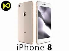 iphone 8 0 finanzierung 3d apple iphone 8 gold cgtrader