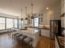L Shaped Kitchen Island With Sink by L Shaped Kitchen With Shiplap Island Transitional Kitchen