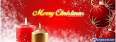merry christmas candles holidays and celebrations facebook cover maker fbcoverlover com