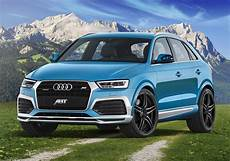 audi q3 second gen 2015 audi q3 gets abt cosmetic tuning 210 hp upgrade for