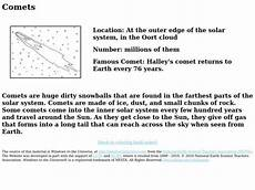 halleys comet worksheet halleys comet lesson plans worksheets reviewed by teachers