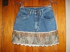 Alte Kleidung Verkaufen - inventar reduktion verkauf kurzer jeansrock mit camo und