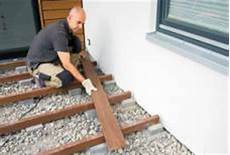 how to build your ipe hardwood deck 1 leveling and fastening