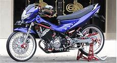 Modifikasi Fu 150 by Foto Modifikasi Suzuki Satria F150 Hyper Underbone