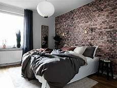 Backstein Tapete Schlafzimmer - apartment presented by moodhouse interi 246 r brick wall