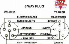 6 Way Trailer Light Wiring Trailer Wiring Diagram
