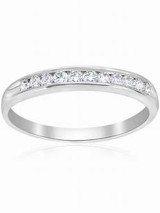 pompeii3 1 4ct diamond 14k white gold wedding stackable