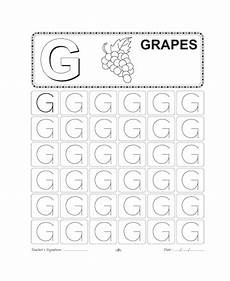 capital letter g tracing worksheets 24645 capital letter writing g printable coloring worksheet