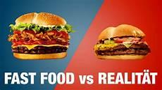 Burger King Werbung - mc donalds vs burger king werbung vs realit 228 t mit