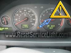 reset service light volvo xc90 2002 2014 reset service