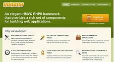 15 best php frameworks for developers dzineflip