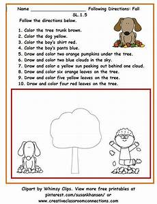 following directions worksheets free printable 11690 12 best following directions images on listening skills speech language therapy and