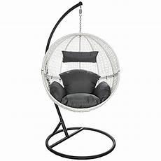 fauteuil suspendu avec support tectake chaise hamac avec support fauteuil suspendu de