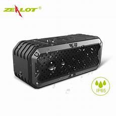 Zealot Hifi Portable Bluetooth Speaker Dual by Zealot S6 Waterproof Speaker Portable Wireless Bluetooth
