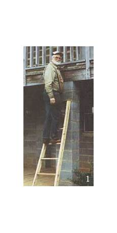 holzleiter selber bauen do it yourself projects how to build a ladder