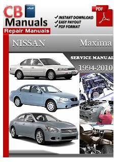free auto repair manuals 1999 nissan maxima security system nissan maxima 1999 service manual free download service repair manuals