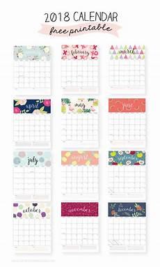 mini kalender 2018 2018 free printable calendars lolly