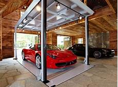 car elevator luxury home garage with car elevator in connecticut