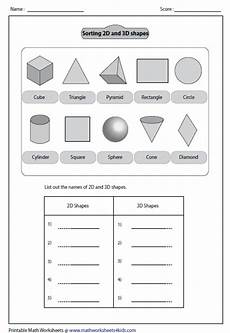 sorting 3d shapes worksheets 7889 solid 3d shapes worksheets