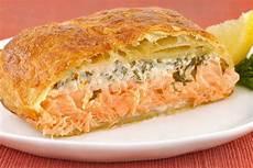 Herbed Salmon En Croute Recipe Mygourmetconnection
