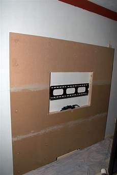 How To Build A Floating Wall With Tv Mount Wall Mounted