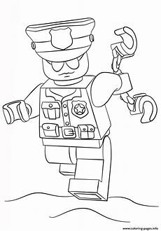 lego officer city coloring pages printable