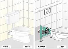 stand wc in h 228 nge wc umbauen eckventil waschmaschine