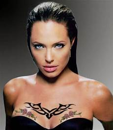celeb angelina jolie tattoos designs universal fashion